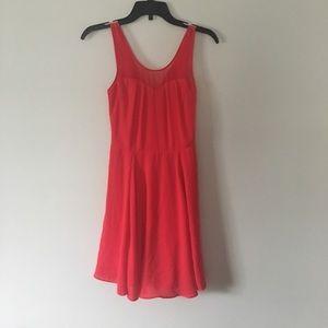 Beautiful red celebration dress